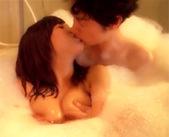 【ムータン 女性向け】泡風呂で後ろからカレに抱きしめられて巨乳を揉まれて感じちゃうよぉ♥