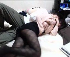 【無修正 イケメン 女性向け】彼にイイトコロにちょっかいかけられて流されてしまう素人カップルのセックス風景