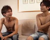 【BL】爽やか系男子のボーイズラブ!街中で手を繋ぎながら歩いてキスするイケメンくんたち 女性向け無料アダルト動画