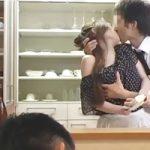 【不倫】こんなきれいな奥さんで羨ましい…旦那が酔いつぶれた後、同僚にキッチンで強引に襲われちゃう 女性向け無料アダルト動画