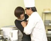 【貞松大輔】ピチピチの制服のせいで店長に犯される・・・
