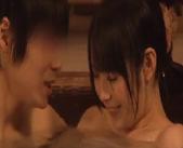 【ラブラブ】素人大学生カップルが混浴風呂で隠し撮りされてるにも知らずに濃厚エッチしちゃった