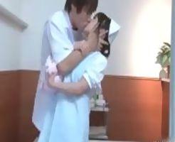 【一徹】イケメン医師が気に入った研修看護師に院内で強引キスに飽き足らずセックスまでしちゃう