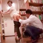 【黒田悠人】図書館で詰め寄られて無理やりセックス。。嫌々だった筈なのに徐々に気持ち良くなってっちゃって腰が動いちゃう♡