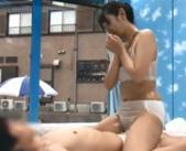 【マジックミラー号】「待って!だめ、入ってる!!」男友達とエステ体験から素股エッチ 女性向け無料アダルト動画